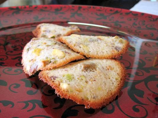 Pistachio Tuiles Cookie Recipe