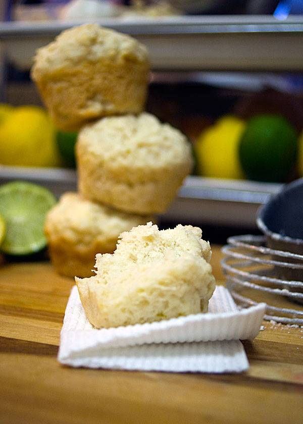 Lemon Lime Muffins