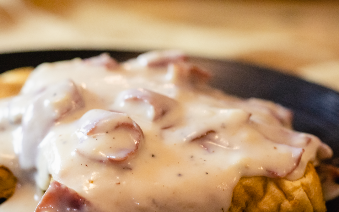 Creamed Chipped Beef on Toast (A.K.A. Shit on a Shingle ): classic comfort food